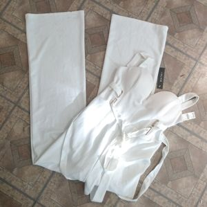 Entry white Jumpsuit
